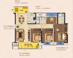 出售4室2厅2卫128平毛坯房